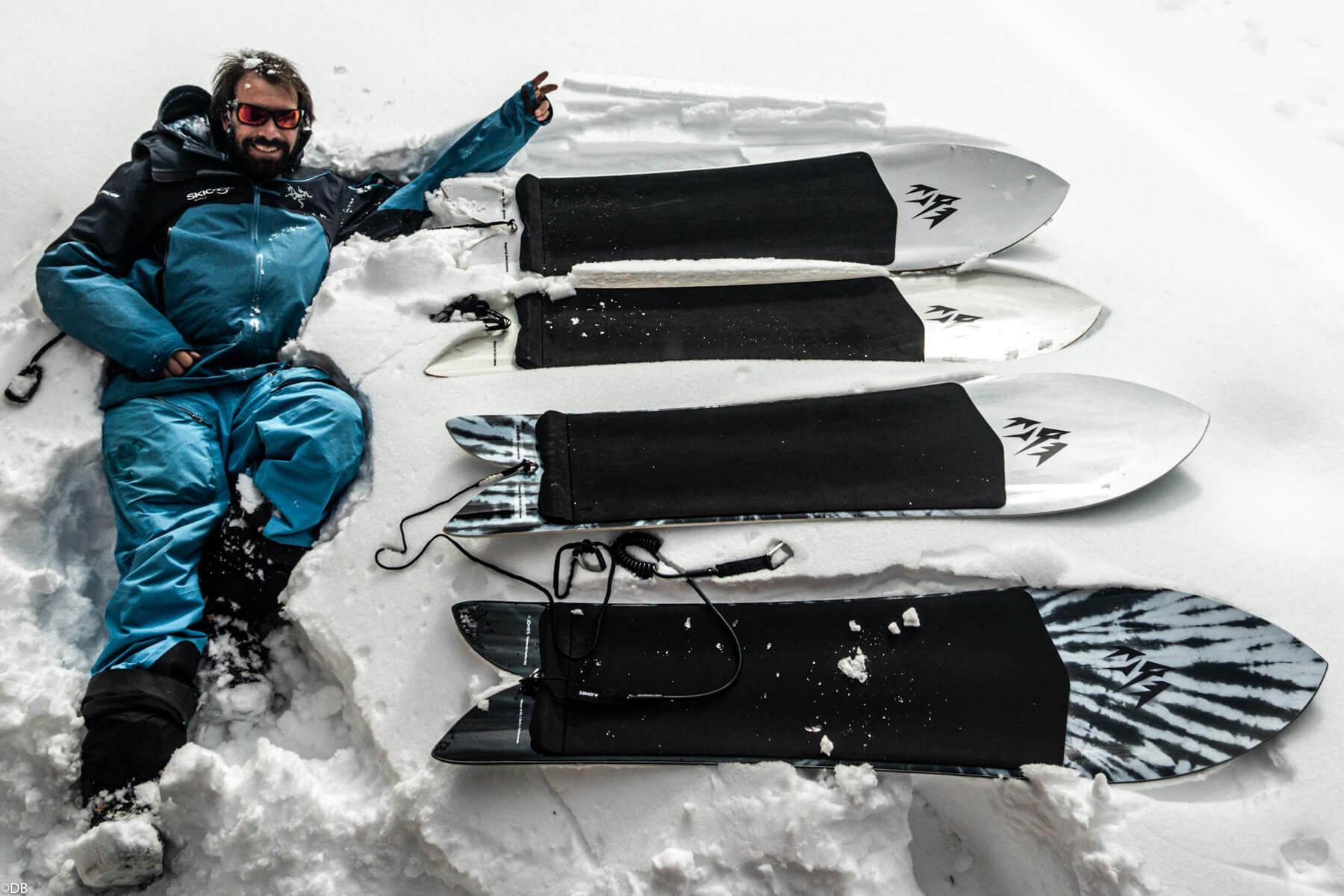 Jones Snowboard Mountain surfer 2021